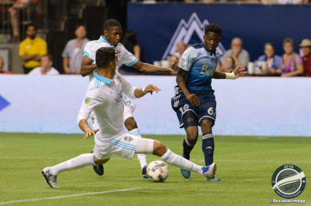 Vancouver Whitecaps v Seattle Sounders – The Story In Pictures