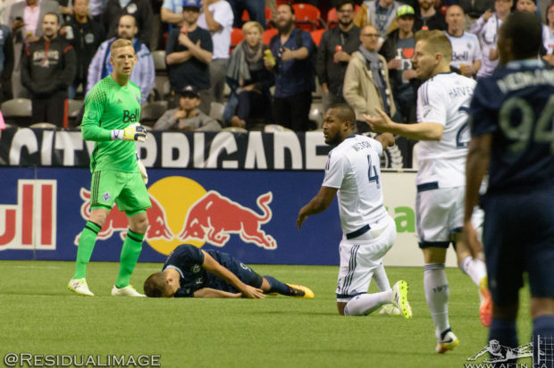 Report and Reaction: No-one really satisfied after ten man Whitecaps share points with Sporting KC