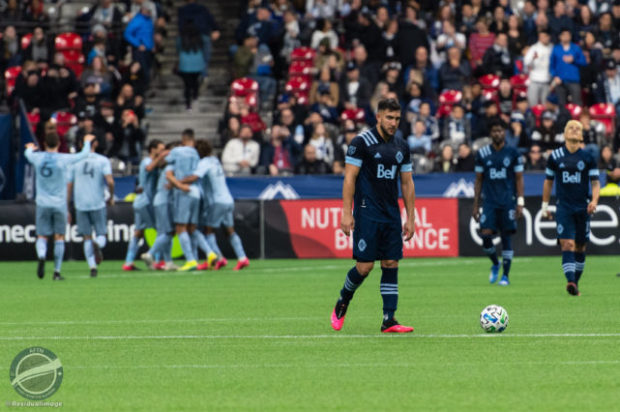 Vancouver Whitecaps v Sporting KC – the season opening loss in pictures