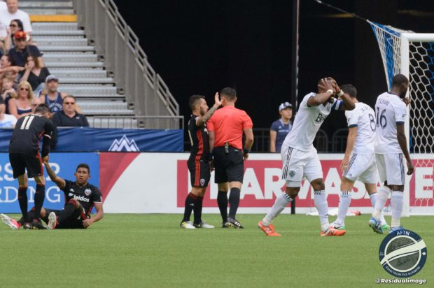 Vancouver Whitecaps v DC United – The Horror Show In Pictures