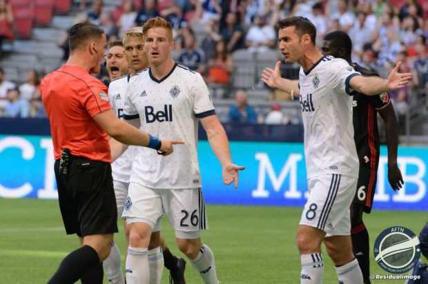 Report and Reaction: Shocking refereeing and inability to capitalize on chances are Whitecaps' downfall in disappointing defeat to D.C.