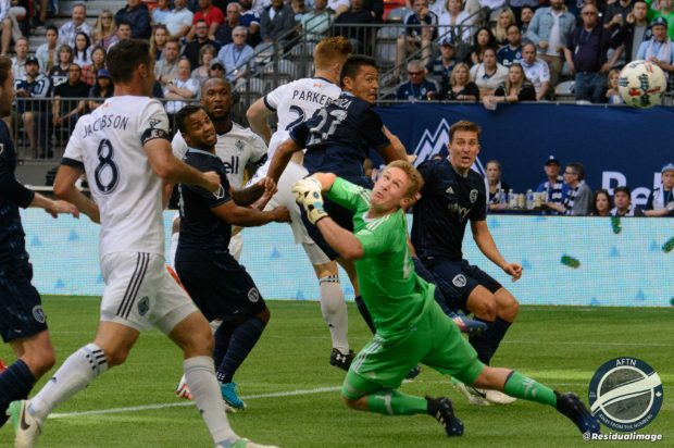Vancouver Whitecaps v Sporting Kansas City – The Story In Pictures