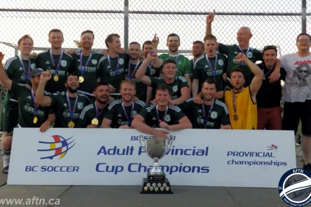 Own goal gifts Vancouver Greencaps their first BC Provincial B Cup crown