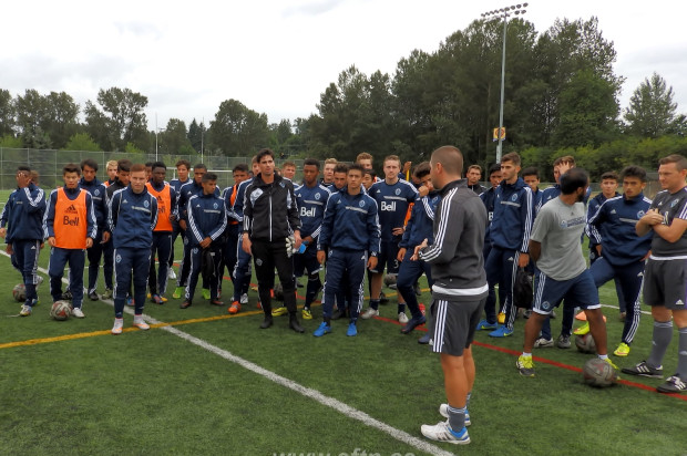 "Residency Week 2015: Whitecaps U18s and U16s get set for USSDA Playoffs – ""We're one of the best, if not THE best, in North America and it's down to us to prove it"""