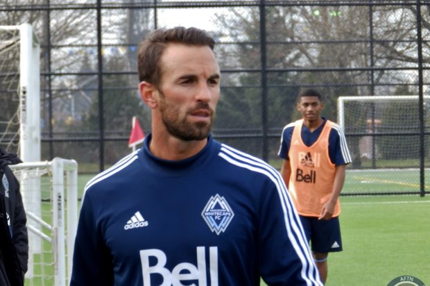 Scott Sutter relishing the chance to share his experience with young Whitecaps squad