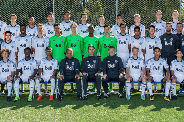 "Residency Week 2017: Tough all-MLS playoff draw for Vancouver Whitecaps U16s ""doesn't get much more meaningful than this"""