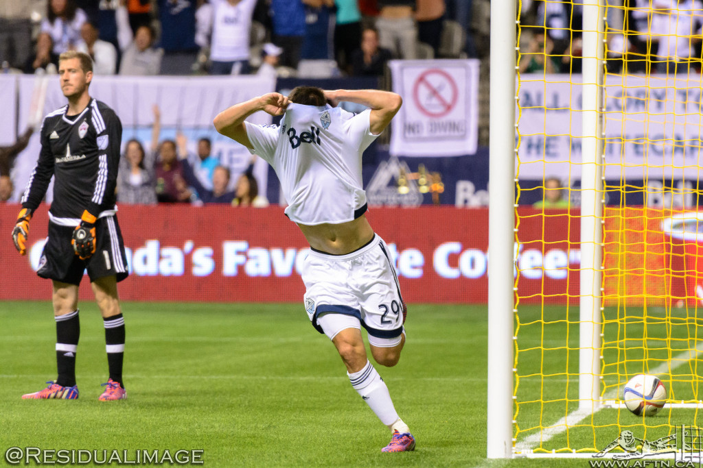 Vancouver Whitecaps v Colorado Rapids - The Story In Pictures (106)