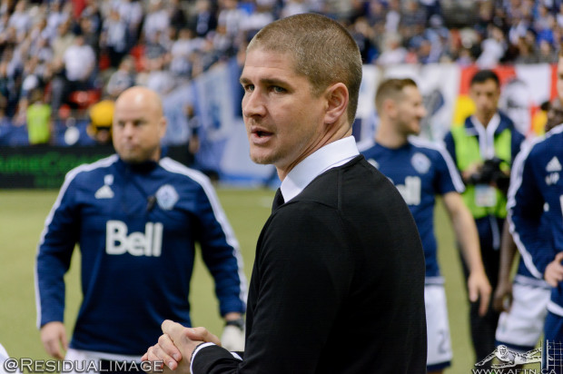 "Vancouver Whitecaps promise attack-minded display in LA as Robinson urges his team ""to play with a lot more confidence"""