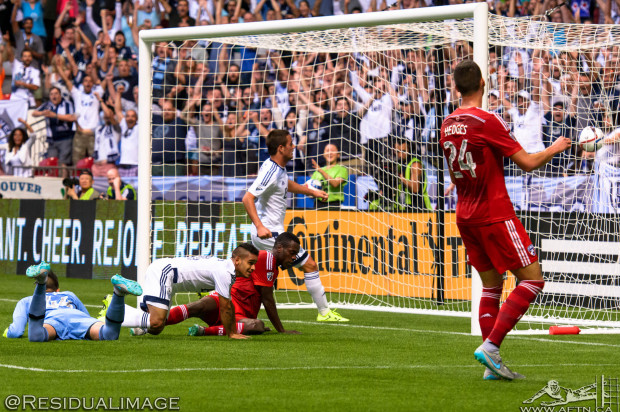 Vancouver Whitecaps v FU Dallas – The Story In Pictures