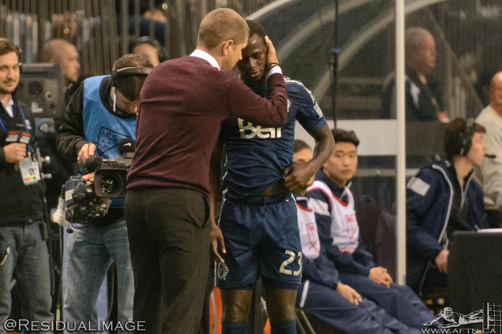 Vancouver Whitecaps v Houston Dynamo - The Story In Pictures (137)