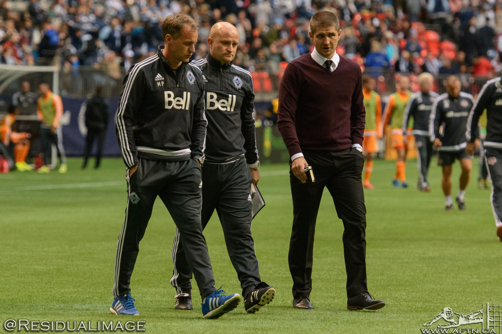 Vancouver Whitecaps v Houston Dynamo - The Story In Pictures (83)