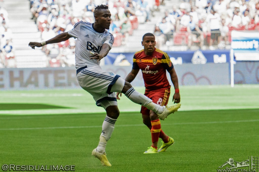 Vancouver Whitecaps v Real Salt Lake - The Story In Pictures (54)