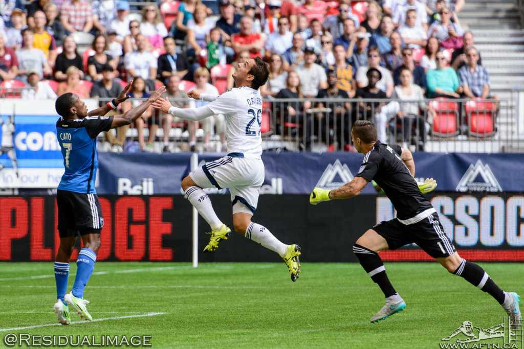 Vancouver Whitecaps v San Jose Earthquakes - The Story In Pictures - July 2015 (12)