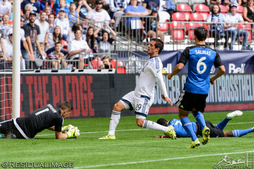 Vancouver Whitecaps v San Jose Earthquakes - The Story In Pictures - July 2015 (15)