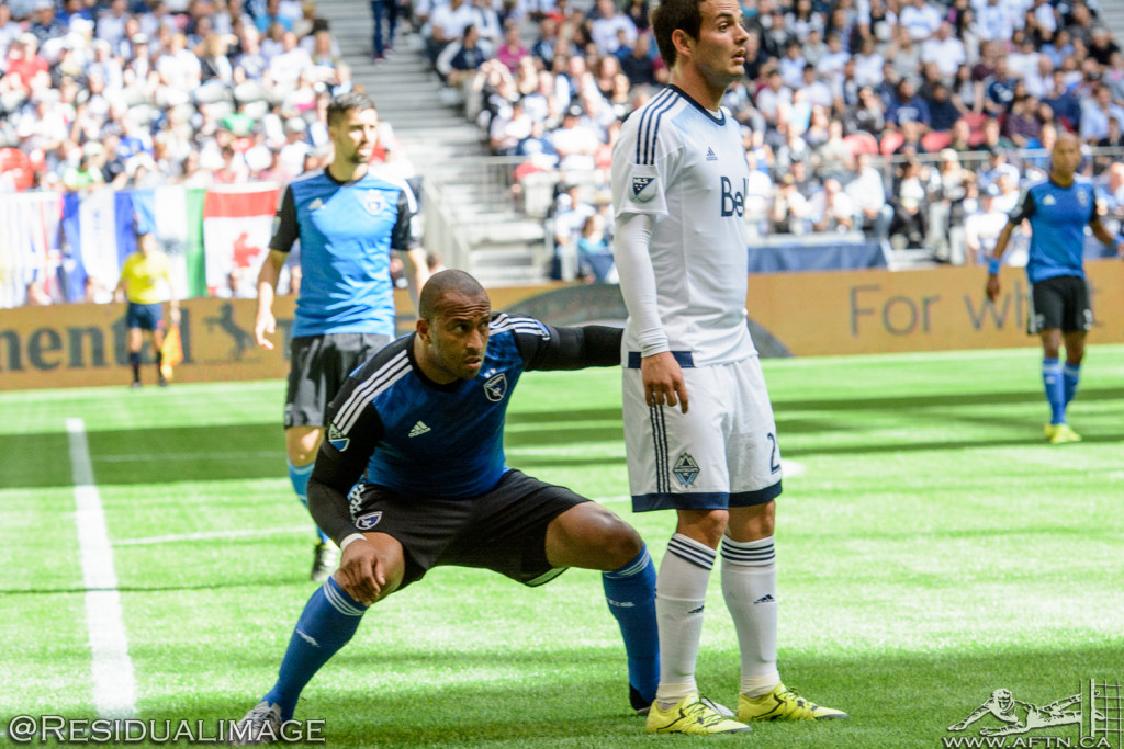 Vancouver Whitecaps v San Jose Earthquakes - The Story In Pictures - July 2015 (22)