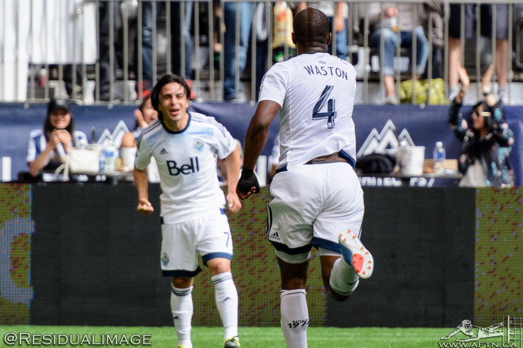 Vancouver Whitecaps v San Jose Earthquakes - The Story In Pictures - July 2015 (35)