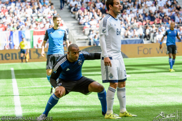 """Vancouver Whitecaps expecting """"scrap"""" in San Jose as they look to clinch playoff place"""