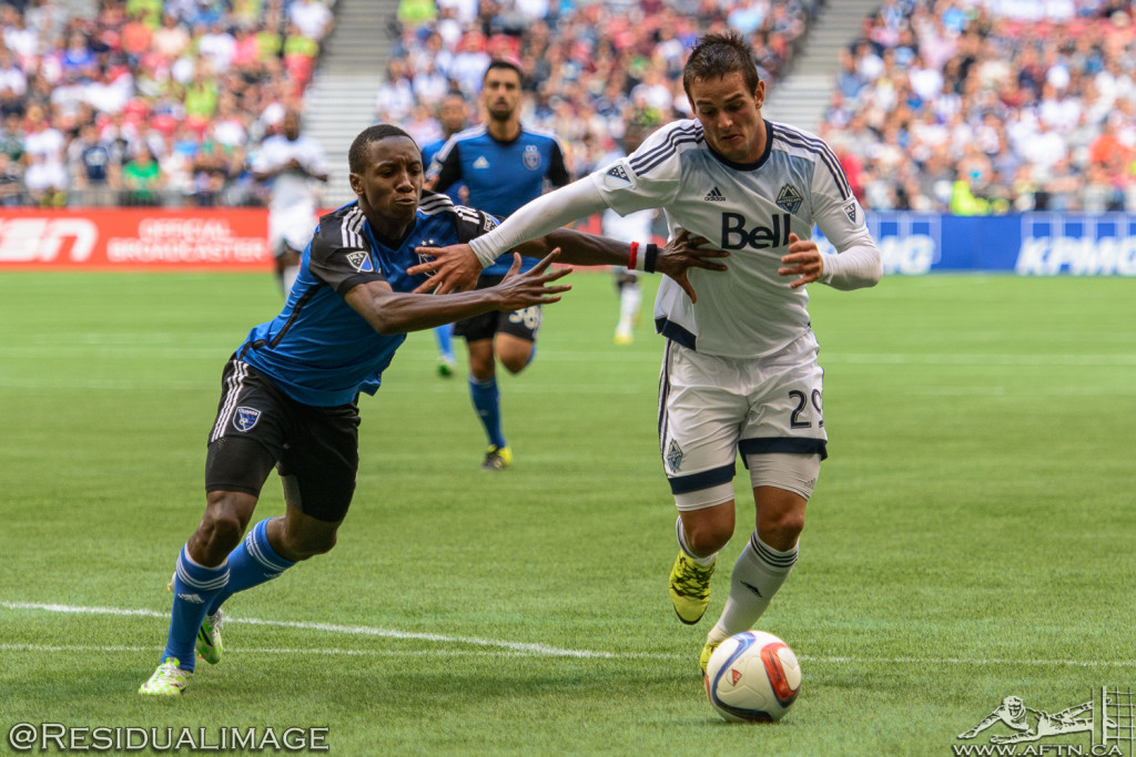Vancouver Whitecaps v San Jose Earthquakes - The Story In Pictures - July 2015 (55)