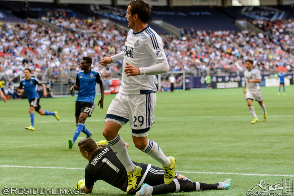 Vancouver Whitecaps v San Jose Earthquakes - The Story In Pictures - July 2015 (57)