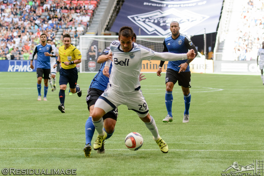 Vancouver Whitecaps v San Jose Earthquakes - The Story In Pictures - July 2015 (62)