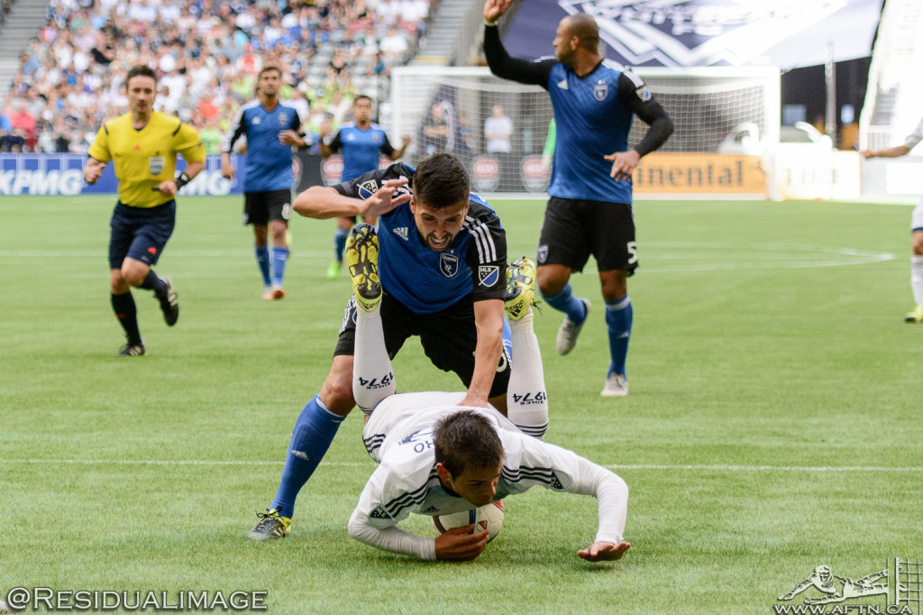 Vancouver Whitecaps v San Jose Earthquakes - The Story In Pictures - July 2015 (63)