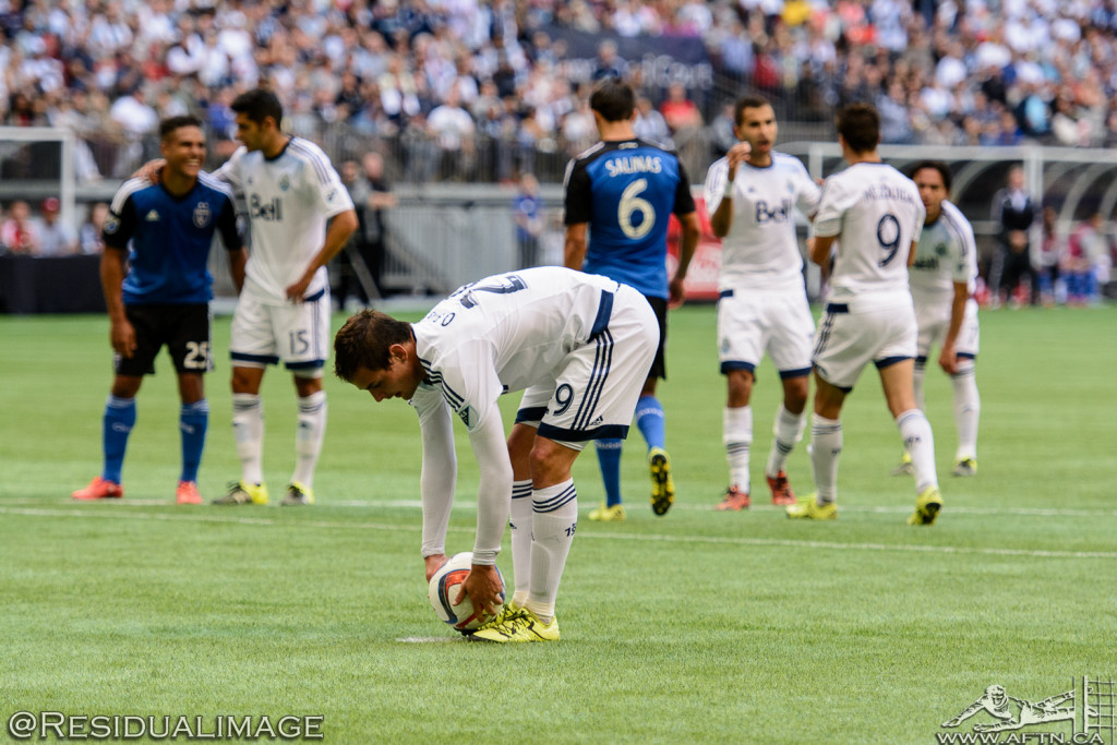 Vancouver Whitecaps v San Jose Earthquakes - The Story In Pictures - July 2015 (64)