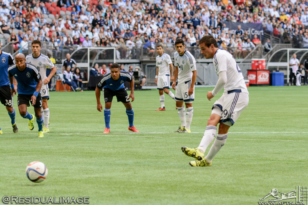 Vancouver Whitecaps v San Jose Earthquakes - The Story In Pictures - July 2015 (66)