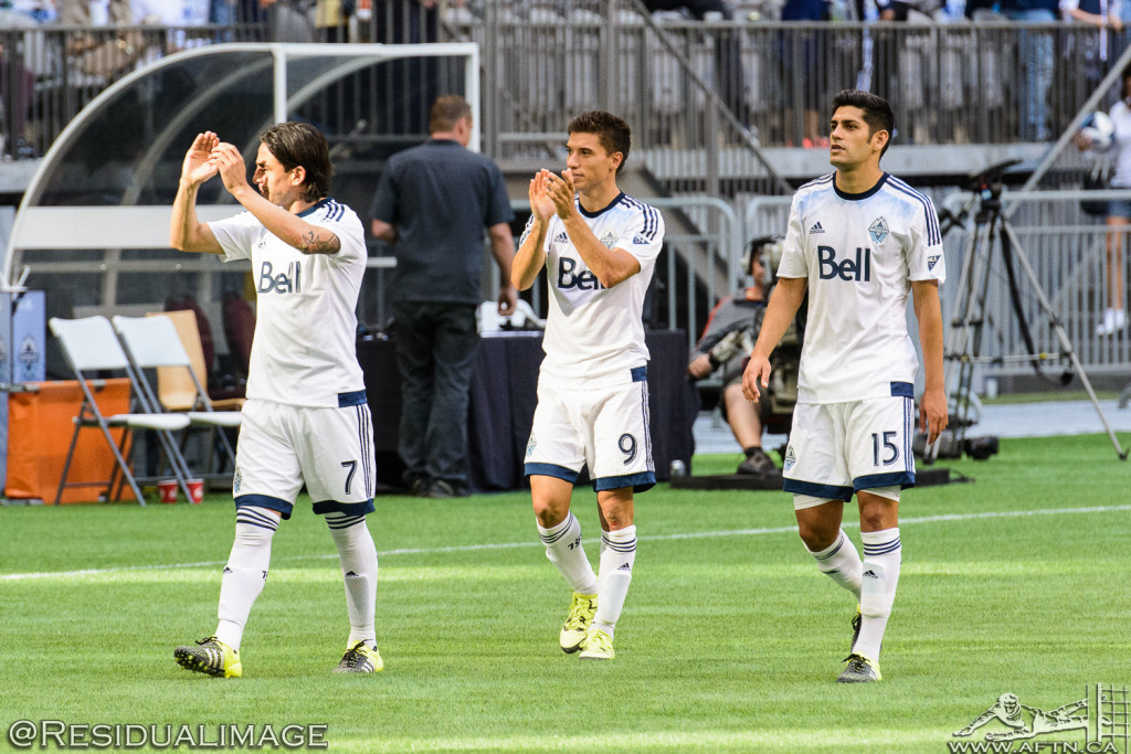 Vancouver Whitecaps v San Jose Earthquakes - The Story In Pictures - July 2015 (85)