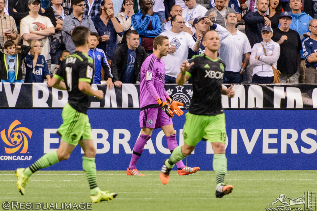 Vancouver Whitecaps v Seattle Sounders - A CCL Story In Pictures (107)