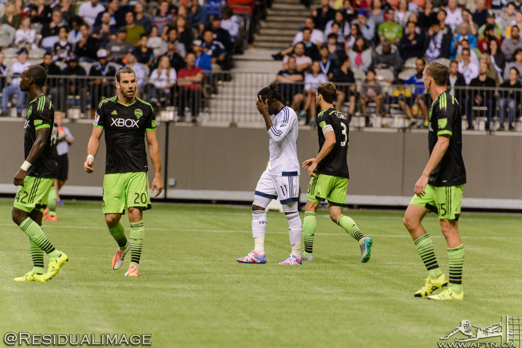 Vancouver Whitecaps v Seattle Sounders - A CCL Story In Pictures (117)