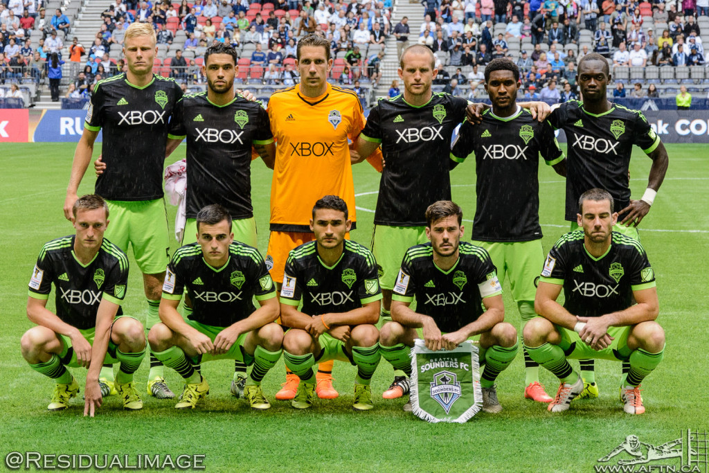 Vancouver Whitecaps v Seattle Sounders - A CCL Story In Pictures (19)