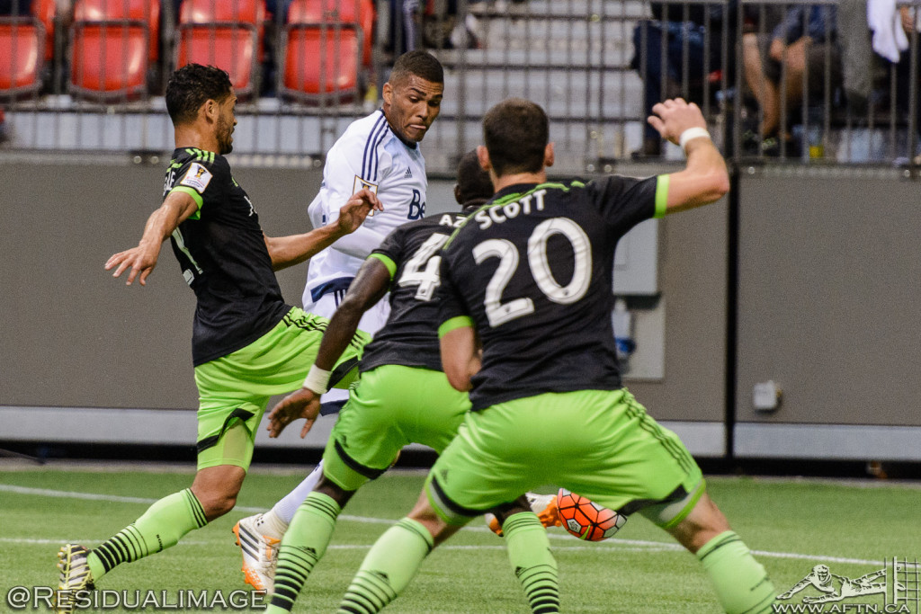 Vancouver Whitecaps v Seattle Sounders - A CCL Story In Pictures (81)