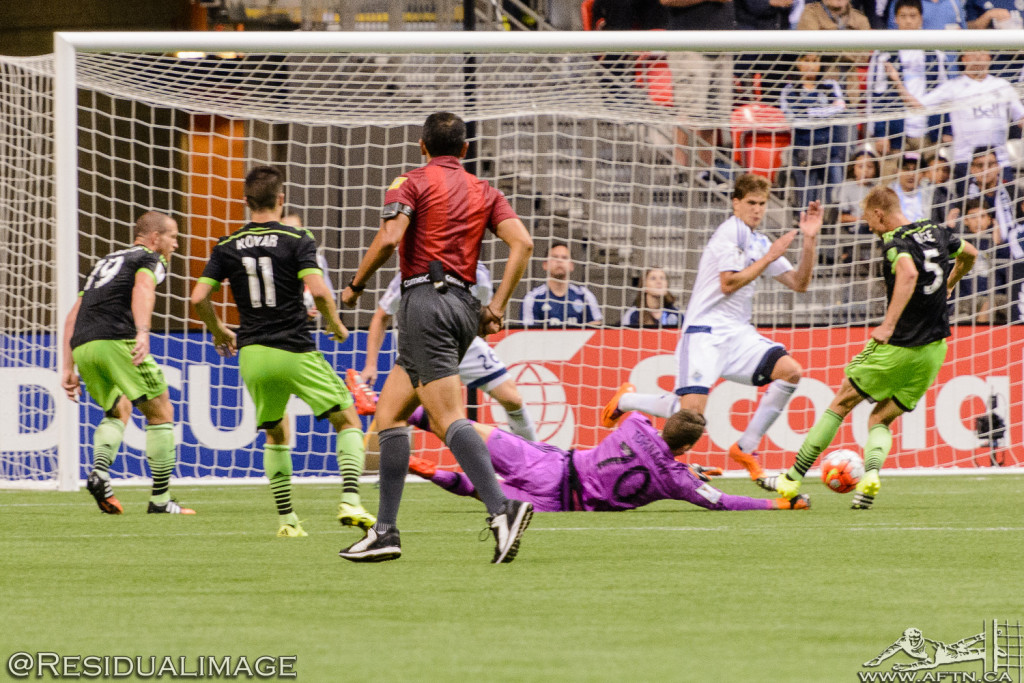 Vancouver Whitecaps v Seattle Sounders - A CCL Story In Pictures (98)