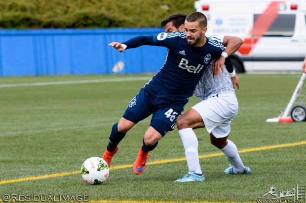"Victor Blasco taking it ""step by step"" with Vancouver Whitecaps after impressing in first USL season"