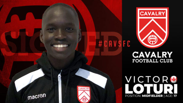 "Cavalry FC signs 17-year-old Victor Loturi – ""He's doing things with a ball that I haven't seen in a long time"""