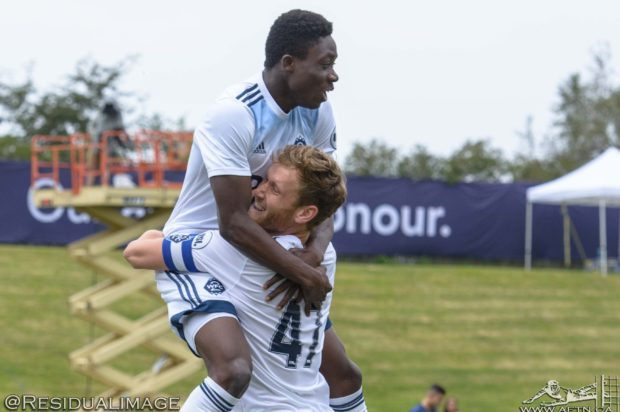 WFC2 v Los Angeles Galaxy II – The Story In Pictures