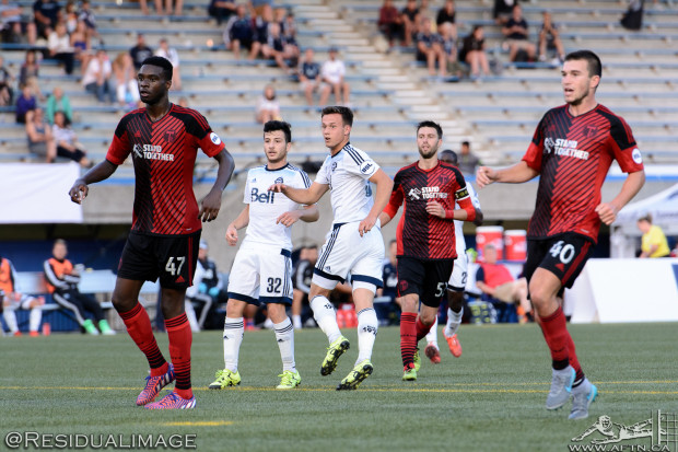 Pivotal road stretch coming up for WFC2 as 'Caps look for six point weekend in Portland