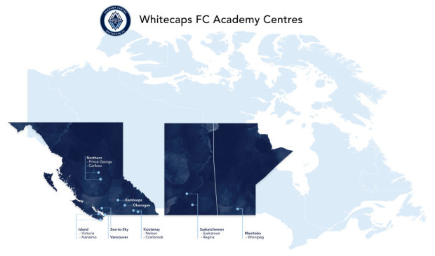 """Vancouver Whitecaps planning further expansion for successful Academy Centres – """"We intend to have our footprint all over Canada"""" (and beyond)"""
