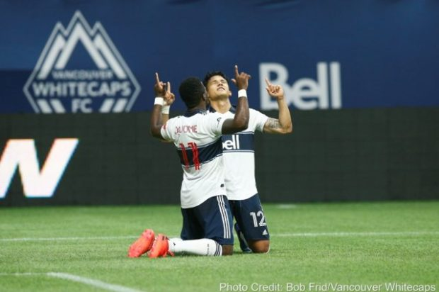 """Montero all-in and ready to """"give everything I have"""" to fire Whitecaps to playoffs as Vancouver call Portland home for the rest of the MLS season"""