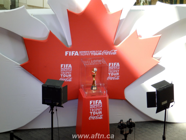 Women's World Cup Trophy Tour makes final stop in Vancouver