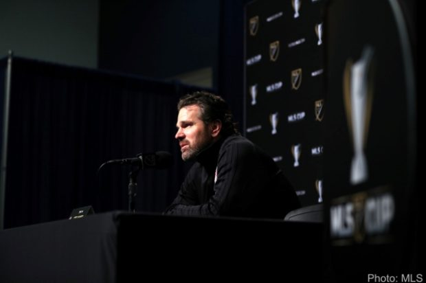 """Vanney and DeLeon """"embracing the moment"""" as TFC prepare for MLS Cup showdown in Seattle"""